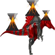 Volcano Spinosaurus