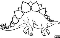 Stegosaurus by Pypus