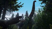 T-rex bronto the isle