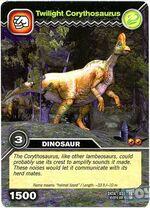 Corythosaurus-Twilight TCG Card (French)