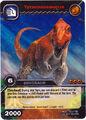 Tyrannosaurus TCG card.jpg