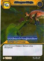 Ninja Attack TCG Card 2-Silver (French)
