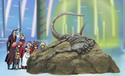 Mammoth skeleton anime