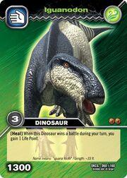 Iguanodon TCG card