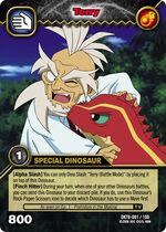 Tyrannosaurus - Terry TCG Card 2-DKTB