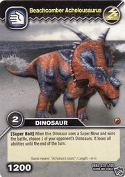 Achelousaurus-Beachcomber TCG Card