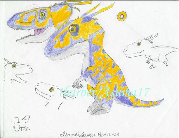 File:Utahraptor chibi by Ibarber.jpg