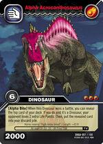 Alpha Acrocanthosaurus