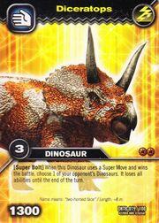 Diceratops TCG Card
