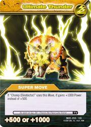 Ultimate Thunder TCG Card