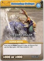 Drowning Deluge TCG Card