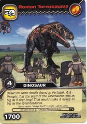 Torvosaurus-Roman TCG Card (German)