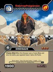 Saurophaganax TCG card