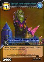 Isisaurus Spectral Armor TCG Card (foreign)