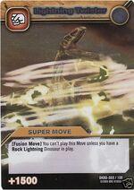 Lightning Twister TCG Card 1-Silver