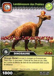 Sas-031lambeosaure-des-prairiescarte-dinosaur-king