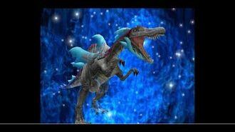 Dinosaur King Awaken Gameplay (Japanese) - Spiny (DinoTector) - Space Pirates Easy Mode (恐竜キングアーケード)