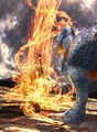 Volcanic Burst TCG Card image