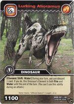 Alioramus-Lurking TCG Card