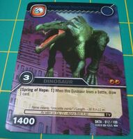 Suchomimus-Pouncing TCG Card 1-Silver (French)