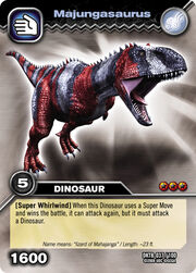 Majungasaurus TCG card