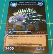 Saichania-Massive TCG Card 1-Gold (French)