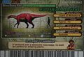 Muttaburrasaurus Card Eng S2 4th back