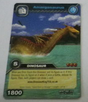 Amargasaurus TCG Card 2