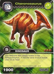 Charonosaurus TCG Card (German)