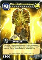 Eucentrosaurus-Terrible TCG Card (French)