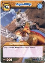 Aqua Whip TCG Card 2 (French)