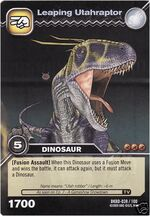 Utahraptor-Leaping TCG Card