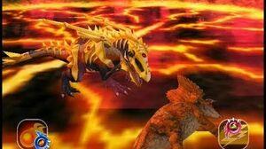 Dinosaur King Awaken - Omega Armour Eocarcharia - Easy Mode (Japanese)