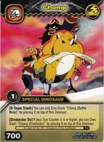 Triceratops - Chomp TCG Card 5-DKDS (German)