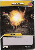 Alpha Blast TCG Card