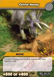 Grind Away TCG Card