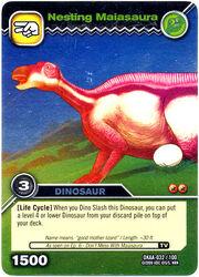 Maiasaura-Nesting TCG Card