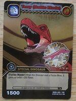 Tyrannosaurus - Terry Battle Mode TCG Card 3-DKBD-Silver (German)