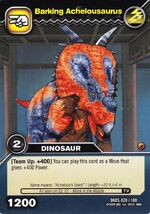 Achelousaurus-Barking TCG Card (German)