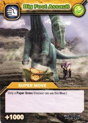 Big Foot Assault TCG Card