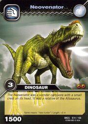 Neovenator TCG Card