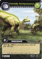 Tsintaosaurus-Friendly TCG Card (German)