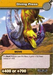Diving Press TCG Card