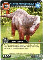 Nemegtosaurus-Nosy TCG Card (French)