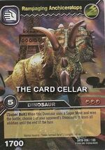 Anchiceratops-Rampaging TCG Card 1