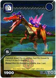 Baryonyx Spectral Armor TCG Card 1