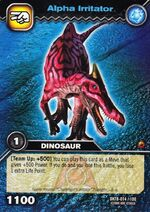 Irritator Alpha TCG Card
