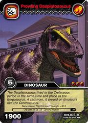 Prowling Daspletosaurus