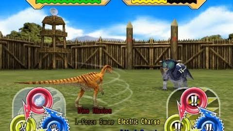 Dinosaur King Arcade Game 恐竜キング - Fukuiraptor X Fukuisaurus VS the Alpha Fortress Full Hard