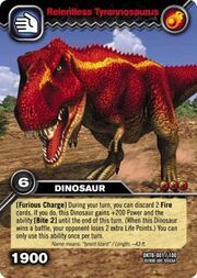 Reientless Tyrannosaurus